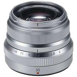 富士フィルム XF35mm F2 R WR (シルバー)