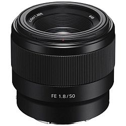 ソニー FE 50mm F1.8 SEL50F18F