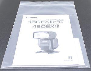 キャノン 使用説明書 (430EXIII-RT/430EXIII)