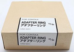 UN FOR CONTAX アダプターリング 52/86 UNS-5311
