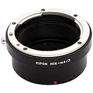 KIPON マウントアダプター NIK-m4/3