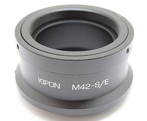 KIPON マウントアダプター M42-S/E