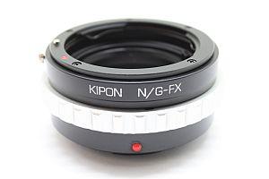 KIPON マウントアダプター N/G-FX