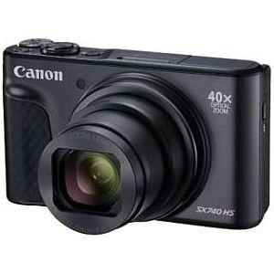 キャノン PowerShot SX740 HS (ブラック)