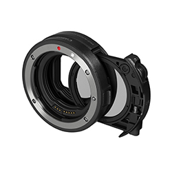 キャノン ドロップインフィルター マウントアダプター EF-EOS R ドロップイン 円偏光フィルター A付