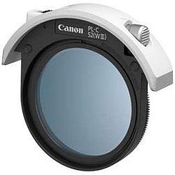 キャノン 52mmドロップイン円偏光フィルター PL-C52 (WIII)