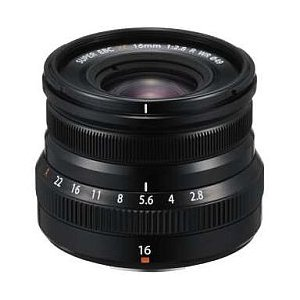 富士フィルム XF 16mm F2.8 R WR (ブラック)