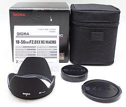 シグマ 18-50mm2.8 EX DC MACRO (シグマ用)