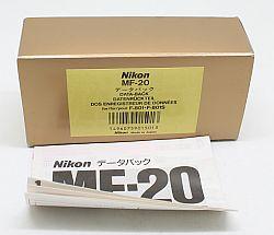 ニコン データバック MF-20