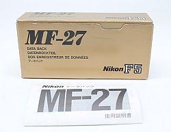 ニコン データバック MF-27