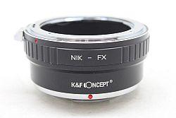 K&Fコンセプト マウントアダプター NIK-FX